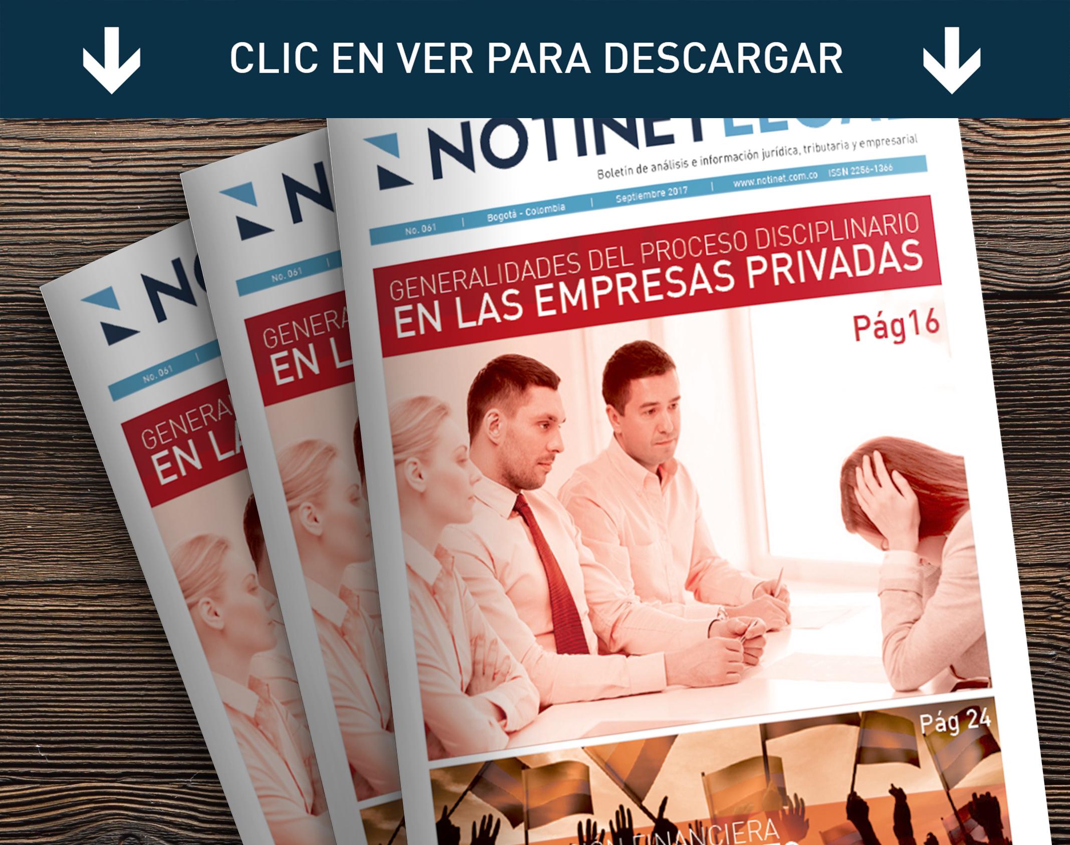 Notinet Legal - Notinet Legal Marzo