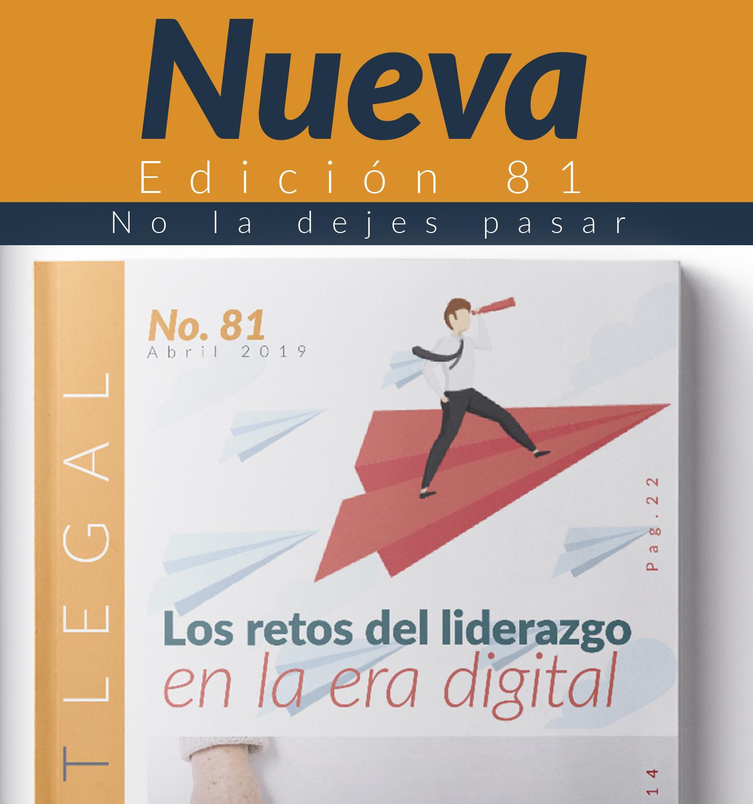 Edición Notinet legal No. 81 -Mayo -2019