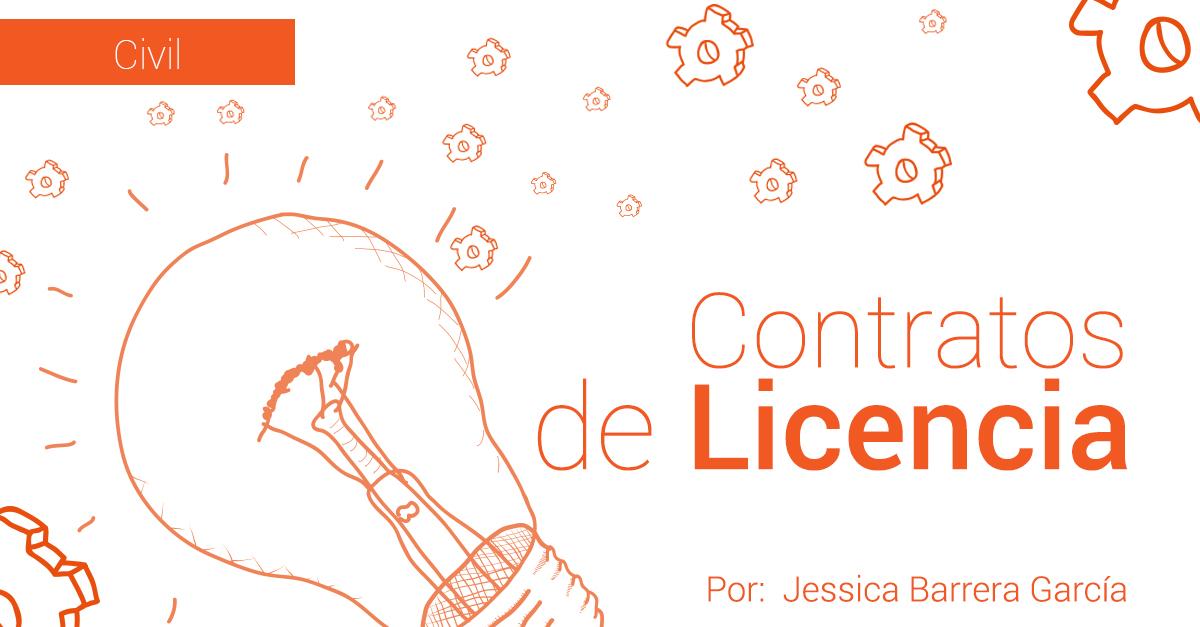 CONTRATOS DE LICENCIA