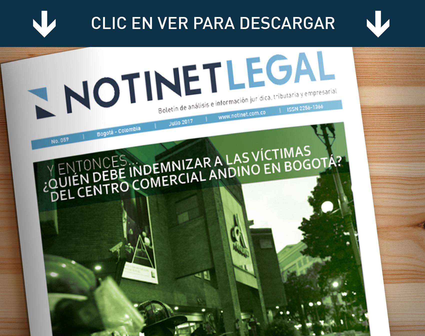 Notinet - Información Jurídica y Jurisprudencial en Colombia
