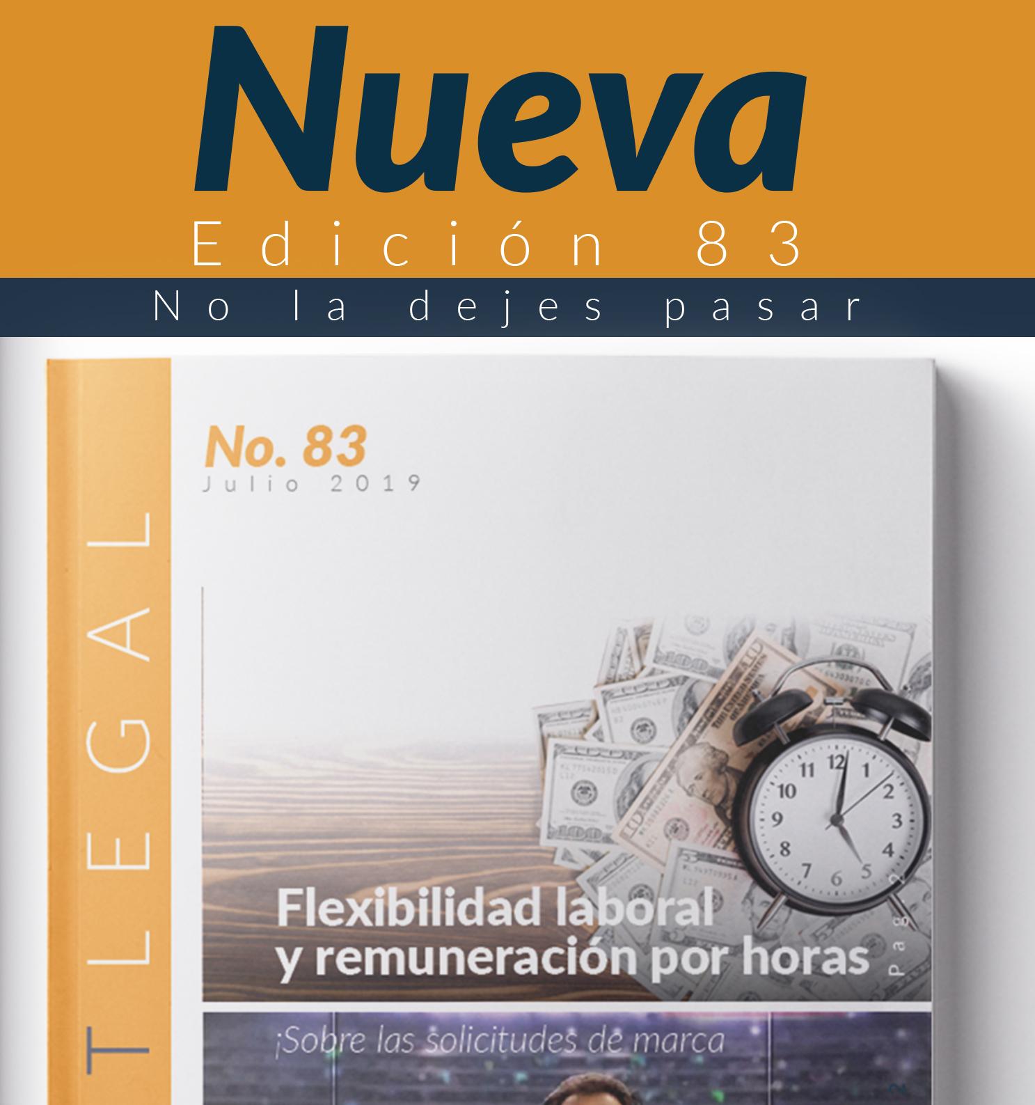 Edición Notinet legal No. 83 -Julio -2019